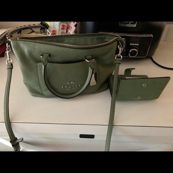Coach Handbags - Coach cross body and wallet
